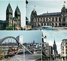 Vintage Wuppertal Photo Collage by stine1