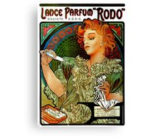 'Lance Parfum' by Alphonse Mucha (Reproduction) Canvas Print