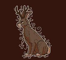 Jackalope (Hare-Antelope) by CreativeHorizon