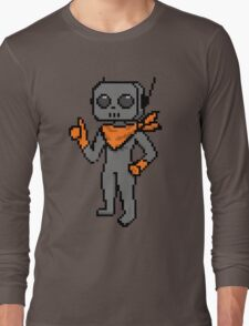 roe pixel art Long Sleeve T-Shirt