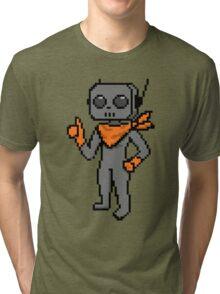 roe pixel art Tri-blend T-Shirt