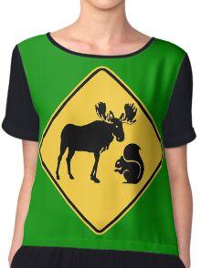 Moose & Squirrel XING Chiffon Top