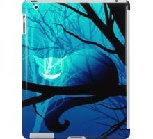 Cheshire Cat (Blue) iPad Case/Skin