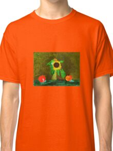 Piet's Sunflower in a Vase Classic T-Shirt