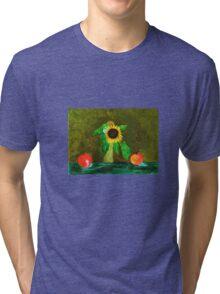 Piet's Sunflower in a Vase Tri-blend T-Shirt