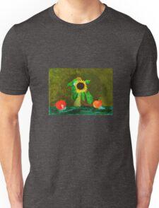 Piet's Sunflower in a Vase Unisex T-Shirt
