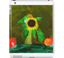 Piet's Sunflower in a Vase iPad Case/Skin