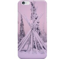 Frozen Teepee iPhone Case/Skin