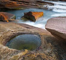 Last Rays and Rock Pools by Alex Fricke