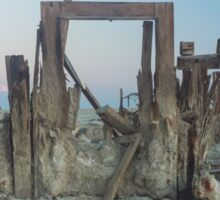 Salton Sea Ruin Sticker