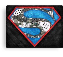 Steampunk Superman Canvas Print