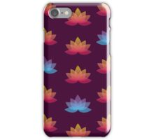 Lotus Pattern iPhone Case/Skin