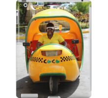 Cuban Taxi iPad Case/Skin