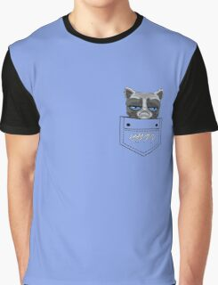 Happy pocket cat Graphic T-Shirt