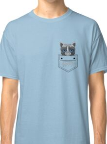 Happy pocket cat Classic T-Shirt