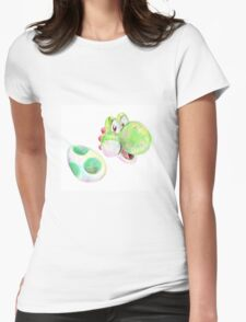 Yoshi and Egg Womens Fitted T-Shirt