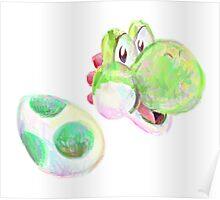 Yoshi and Egg Poster