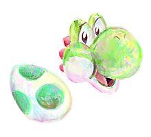 Yoshi and Egg Photographic Print