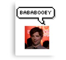 Bababooey Ben Canvas Print