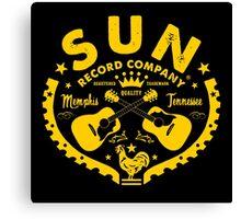 Sun, House Of Rock N' Roll Canvas Print