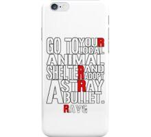 Rayg #3 iPhone Case/Skin