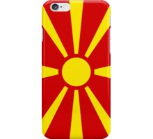 Flag of Macedonia iPhone Case/Skin