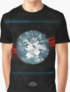 Abstract Space Graphic T-Shirt