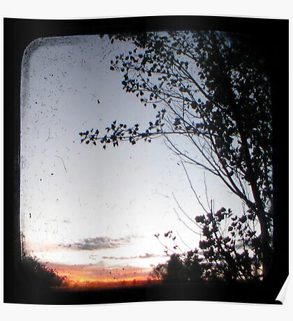 New England Sunset Through The Viewfinder (TTV) Poster