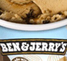 Ben & Jerry's Coffee Caramel Fudge NON-DAIRY Sticker