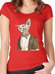 Mr. Sphinx Women's Fitted Scoop T-Shirt