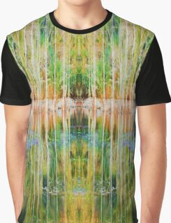 Tree Reflection Graphic T-Shirt
