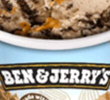 Ben & Jerry's Peanut Butter and Cookies NON-DAIRY Sticker
