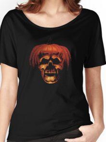 Halloween Pumpkin Women's Relaxed Fit T-Shirt