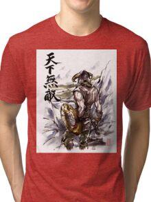 Unbeatable Dragonborn Sumi/watercolor Tri-blend T-Shirt