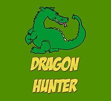 Dragon Hunter Tee Shirt by GenialGrouty