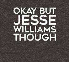 Jesse Williams tho. (white font) Unisex T-Shirt