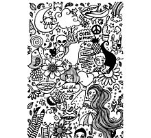 Doodles madness Photographic Print