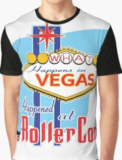What happens in Vegas HAPPENED at RollerCon Graphic T-Shirt