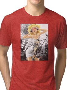Girl at a party Tri-blend T-Shirt