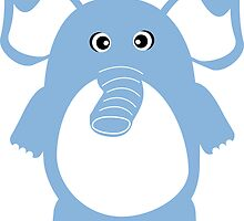 Cute Elephant by ilovecotton