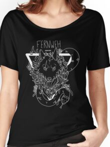 FERNWEH - White Version Women's Relaxed Fit T-Shirt