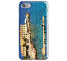 Swimming in Faliraki Bay iPhone Case/Skin