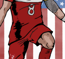 Dempsey USA flag Sticker