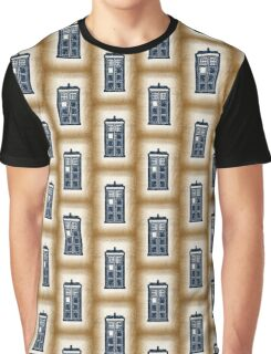 Filigree TARDIS Paper Graphic T-Shirt