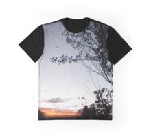 New England Sunset Through The Viewfinder (TTV) Graphic T-Shirt