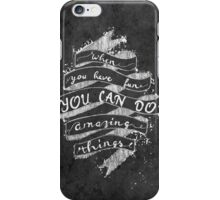 AMAZING THINGS iPhone Case/Skin