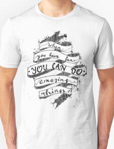 AMAZING THINGS Unisex T-Shirt