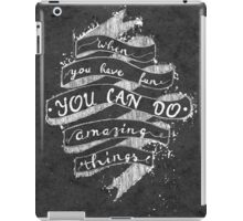 AMAZING THINGS iPad Case/Skin