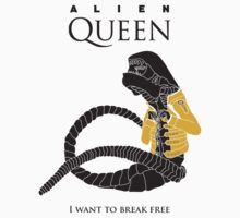 "Alien Queen: ""I Want To Break Free"" by mellowmind"