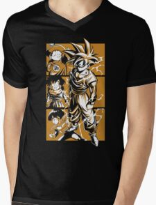 Super Saiyan Gohan - RB00023 Mens V-Neck T-Shirt
